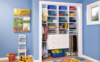 How to organize your child's room